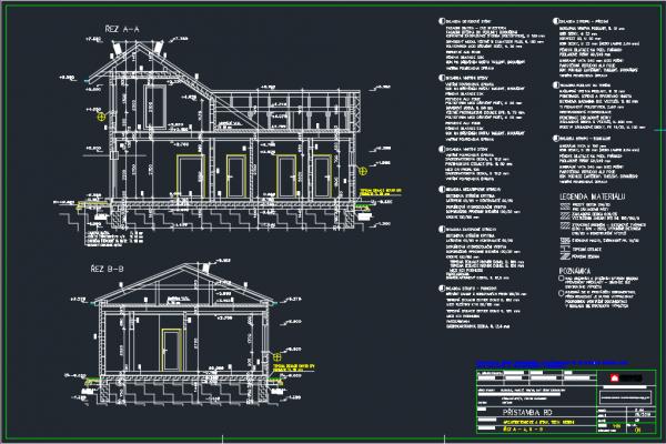 Postavený dům - Přístavba k RD -ATYP