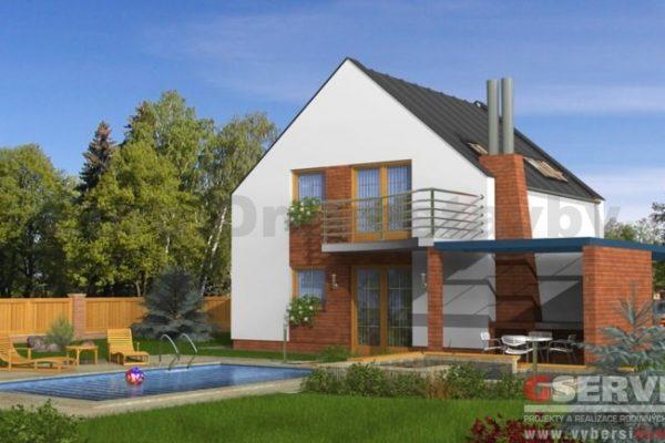 Postavený dům - RD Pavla